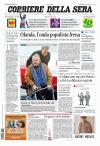 prime pagine corriere