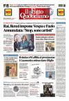 Prime pagine ll Fatto Quotidiano