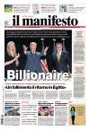 Prime pagine Il Manifesto