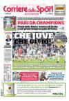 Prime pagine Corriere dello Sport