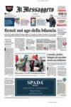Prime pagine Il Messaggero