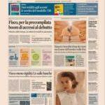 Prime pagine Sole 24 Ore