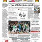 Prime pagine Corriere della Sera
