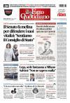 Prime pagine Fatto Quotidiano