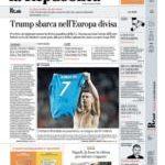 Prime pagine La Repubblica